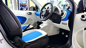 Photo of the interior of a motor vehicle